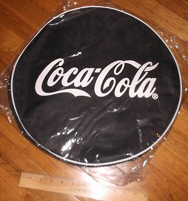 """Coca Cola Round 17"""" Pop Up Cooler Bag With Carry Strap New!! ships free"""