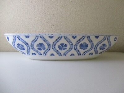 VILLEROY BOCH FARMHOUSE Touch Serving Bowl- Oval- 17 1/2\
