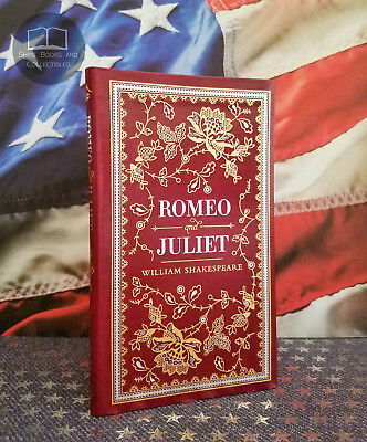 NEW Romeo and Juliet by William Shakespeare Bonded Leather Collectible Edition