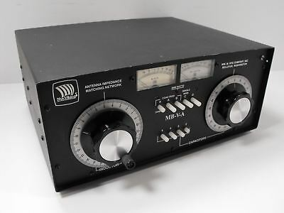 Nye Viking MB-V-A 3000 Watt Antenna Tuner for Ham Radio Clean Condition