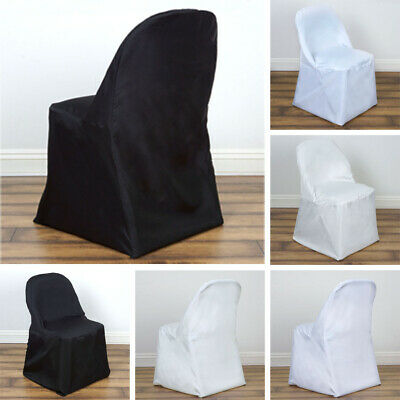 Incredible 25 Pcs Polyester Round Folding Chair Covers Wedding Catering Evergreenethics Interior Chair Design Evergreenethicsorg