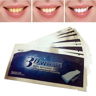 28x Bandes autocollante Blanchiment des Dents Blanchiment Dentaire CO