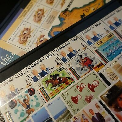 Turkmenistan Collection Of Stamps 1993/97 N°30/57 + Bloc Neuf Mnh Value