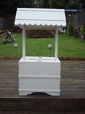 Wedding wishing well 4 sale lockable 80cm high free post in uk sculptured base-
