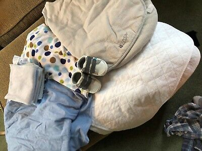 Baby boy clothes and infant accessory lot