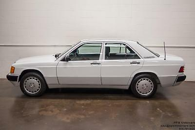 1989 Mercedes-Benz 190-Series 190E 1989 Mercedes-Benz 190 Series 190E 35,548 Miles 2 Owners Massive Service