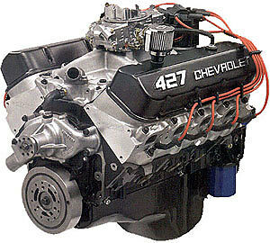 427/555hp CHEVY BIGBLOCK CRATE ENGINE FOR MUSCLE CARS