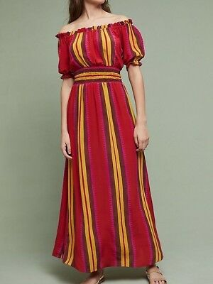 9bb9671afdd NWT ANTHROPOLOGIE ARTISTA Maxi Dress PS by Bl-nk  228 -  129.95 ...