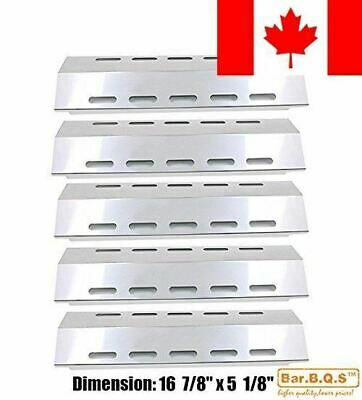 """Bar.b.q.s 30500701/30500097 (5-pack) Stainless Steel Heat Plate 16 7/8"""" * 5 1..."""