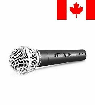 Pyle PDMIC59 - Professional Dynamic Vocal Microphone - Cardioid Unidirectiona...