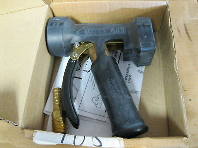 "T&S Brass MV- 522-31 Front Trigger Water Gun With 1/2"" Coupling (Brass)(Unused)"