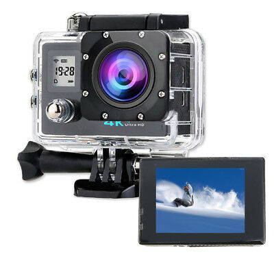 Ultra HD 4K/30fps 1080P 170° WiFi Waterproof  Sports Action Camera DVR Cam HDMI