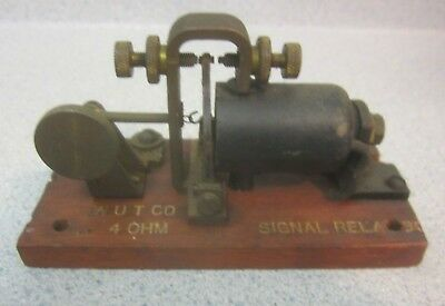 Vintage Western Union Relay For Telegraph Railroad Telegraph