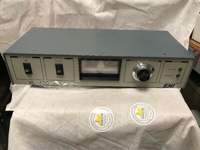 ENI Model VL-400M1 Phase Shift Controller For STS ICP Equipment