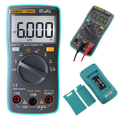 Ranging Digital Multimeter Voltmeter Ammeter Ohmmeter OHM AC DC Tester UK