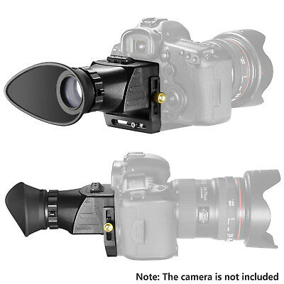 Neewer Universal Camera Viewfinder 2.5x Magnification for Canon Nikon Olympus