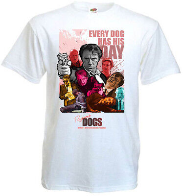 Reservoir Dogs v3 T-shirt white movie poster all sizes S...5XL
