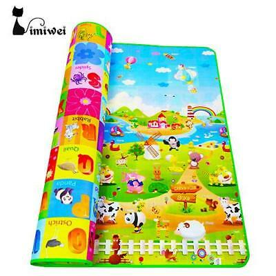 Baby foam play mat - farm and animal series, double sided - great designs! Fr...