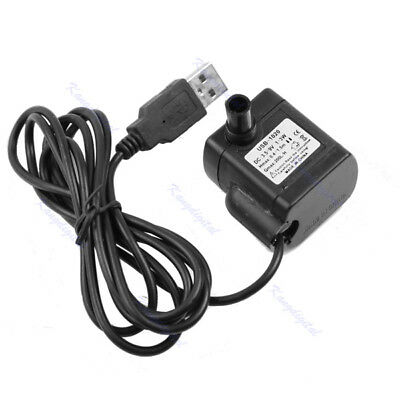 DC 3.5V-9V 3W USB Submersible Fountain Useful Pond Water Pump Aquarium Fish Tank