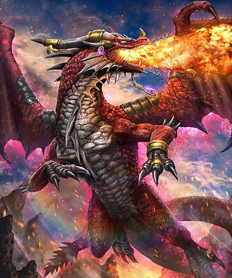 Fire dragon DIY 5D Diamond Painting Full drill Fashion Home Decor Embroidery/146