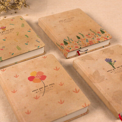 1pc Thicken Hardcover Korean Cute Notebook Drawing Diary Book Blank Journal