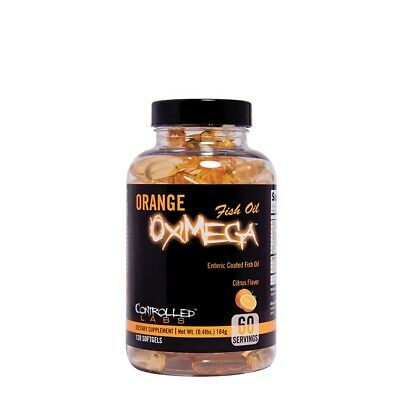 Controlled Labs Fish Oils OxiMega Fish Oil 30 Soft Gels (Late Dated March 2018)