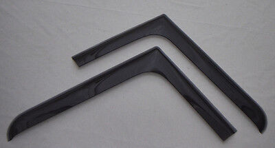 Scania R Series (All years up to Next Gen) Window Deflectors Pair of, wind, rain