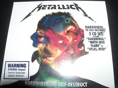 METALLICA Hardwired...To Self-Destruct (Australia) 2 CD - New