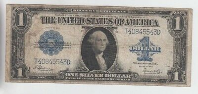 Silver Certificate $1 1923 vg-fine stains