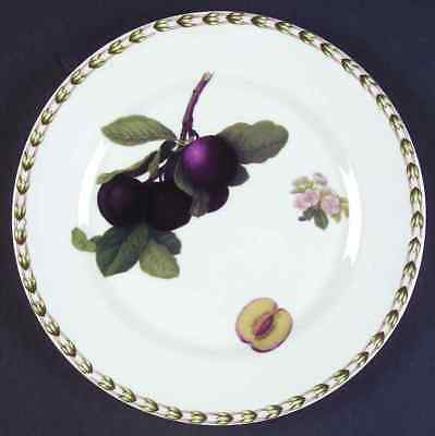 Rosina Queens HOOKER'S FRUIT (INDIA) Plum Salad Dessert Plate 6106500