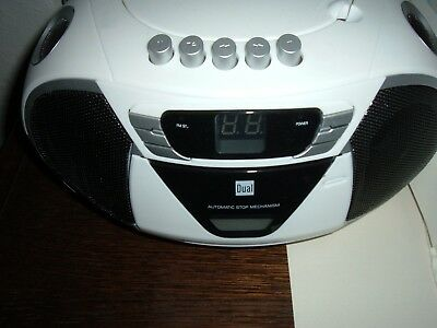 DUAL P65 UKW-Radio / CD-Player / AUX / Kassette / Weiss