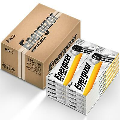 100x Duracell AA Industrial Alkaline Batteries 1.5V LR6 MN1500 Procell 2024 exp.