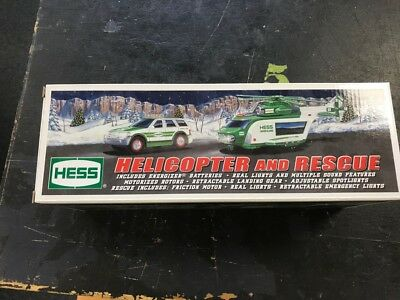 2012 Hess Helicopter And Rescue New In Box
