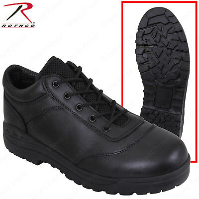 Rothco Men's Black Tactical Utility Oxford Shoe/Work Boots Regular or Wide Width