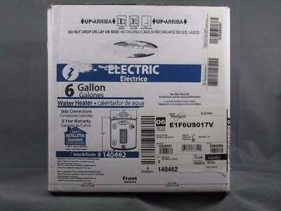 Brand New Sealed  Whirlpool 6 Ga. Gallon Compact Electric Water Heater 140462