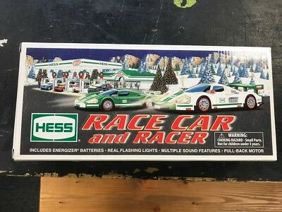 2009 Hess Race Car And Racer New In Box