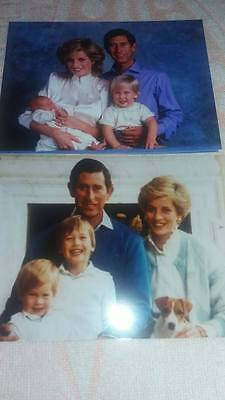 2 photos Princesse Diana Charles real pictures Princess Diana William Harry