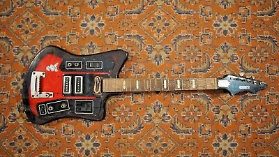 Formanta Electric Guitar Ussr Soviet Vintage And Rare