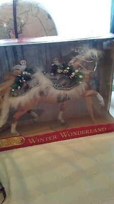 Breyer Christmas 2017 Winter Wonderland Holiday Horse  NIB