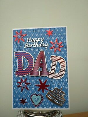 Dad birthday card 120 picclick uk handmade dad birthday card bookmarktalkfo Gallery