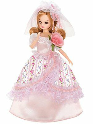 TAKARA TOMY Licca Chan Doll Rika-chan LD-05 Floral wedding From Japan New 0979