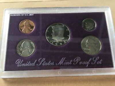 1992 US proof set