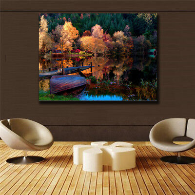 Beautiful scenery HD Print on Canvas Home Decor Wall Art Poster(31inx47in)