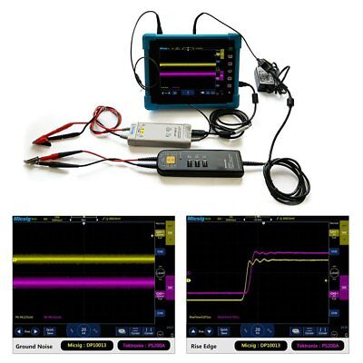 DP10013 Micsig Oscilloscope 1300V 100MHz High Voltage Differential Probe Kit NG