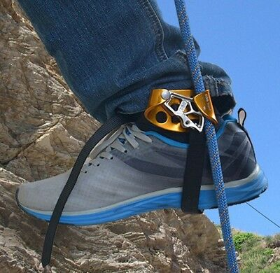 Right Foot Ascender Riser Mountain Rock Climbing Rope Access for 8-13mm Rope