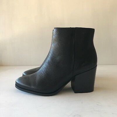 COUNTRY ROAD : SZ 37,38,39,40,41 [CR LOVE] kirby heeled boot black 6,7,8,9,10