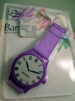 1988 GOODY Barrette With Simulated Wristwatch