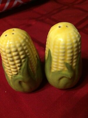 Shawnee King Corn Salt And Pepper Shaker Set 3""