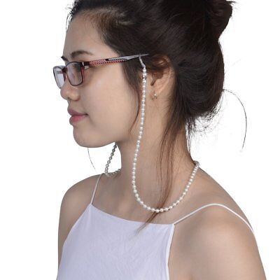 Women Handmade Beaded Eyeglass Strap Rope Reading Glasses Chain Cord Holder G7