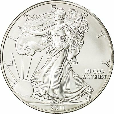 [#430036] United States, Dollar, 2011, U.S. Mint, MS(65-70), Silver, KM:273